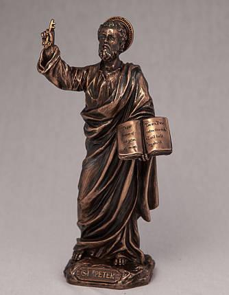 Статуэтка Апостол Петр (21 см) Veronese Италия 76023 A4, фото 2