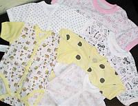 Детская одежда от 0 до 3-х лет из ткани Кулир