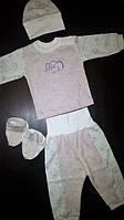 Детская одежда от 0 до 3-х лет из ткани Интерлок