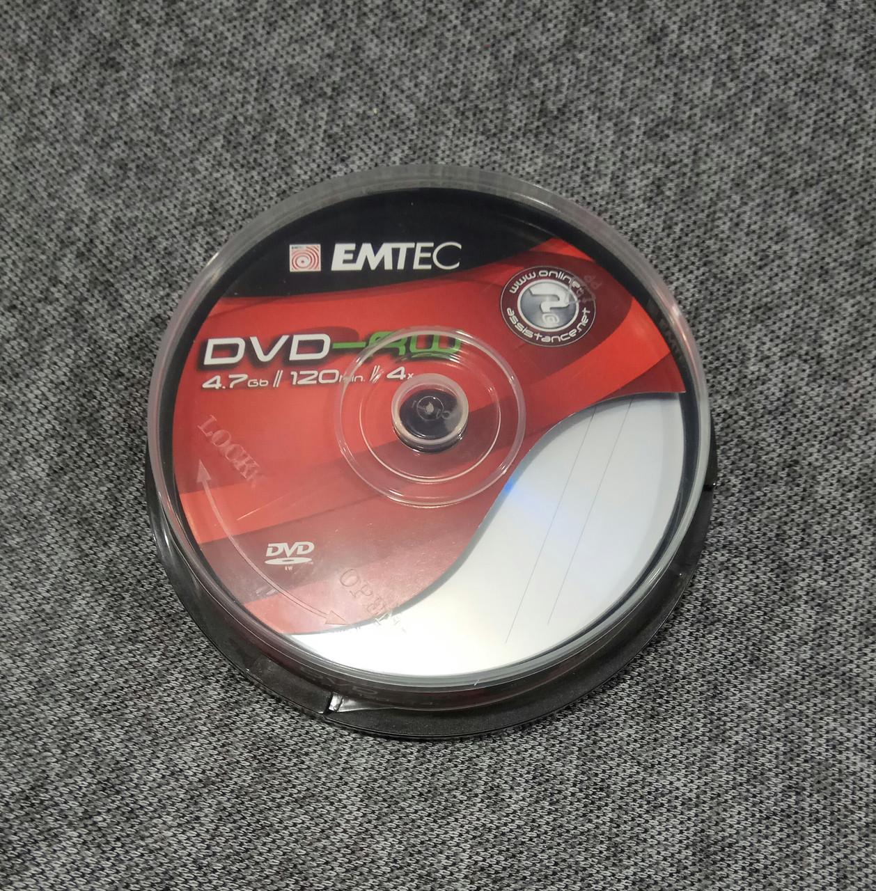 Диски DVD-RW EMTEC
