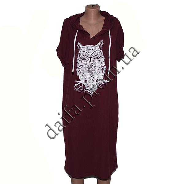 Купить Женское трикотажное платье R75-17 (р-р 50-56) оптом в Одессе ... 7cadfd6657c