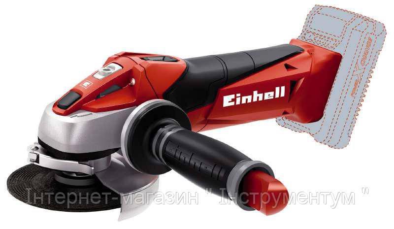 Угловая шлифовальная машина Einhell TE-AG 18 Li Solo
