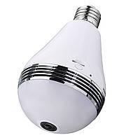 Wi-Fi IP Камера-лампочка 360 градусов