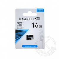 Карта Памяти Team MicroSD 16Gb class10 (card only)#TUSDH16GCL1002