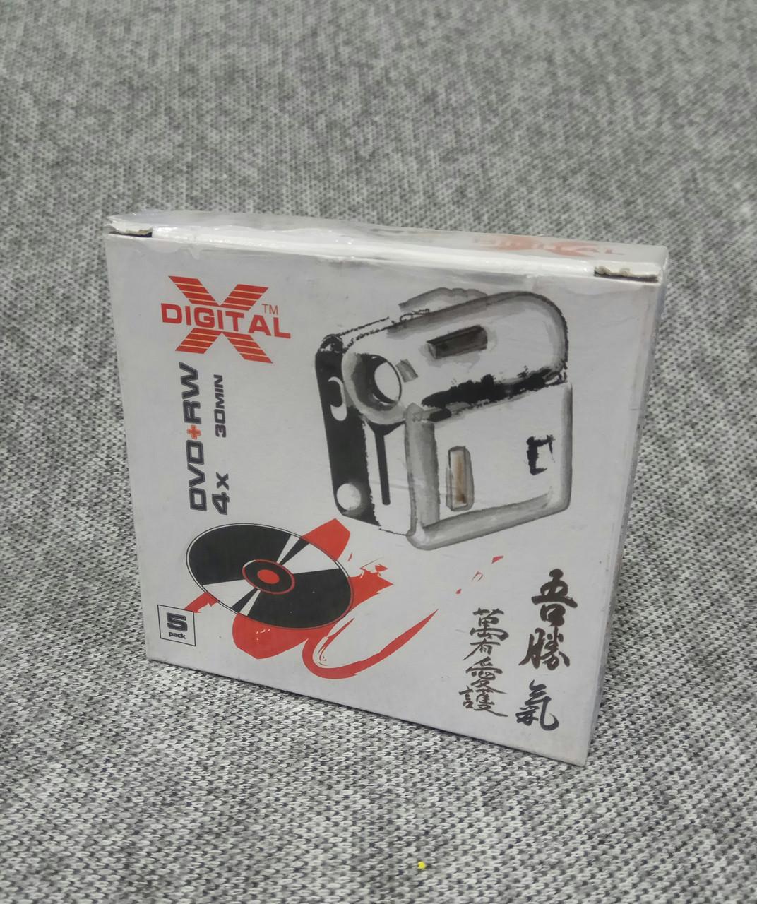 Диски для камер mini DVD+RW X-DIGITAL