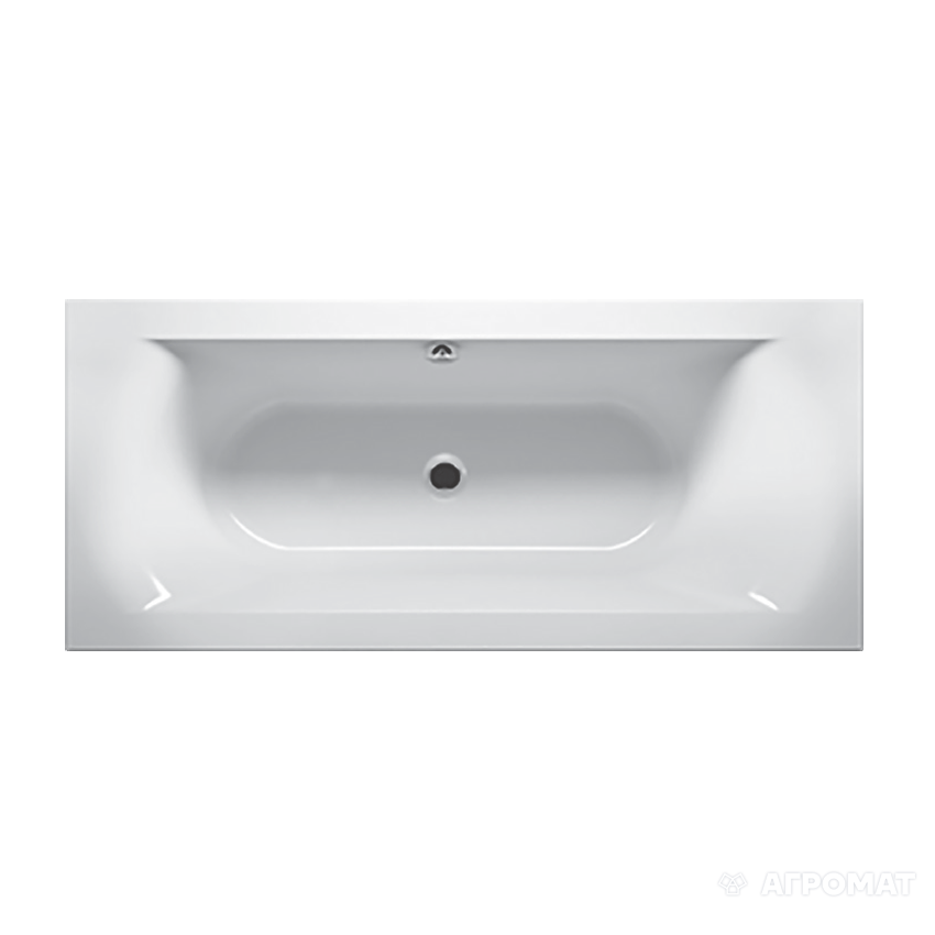 Ванна акриловая Devit Lusso 18080135R с тонким бортом, 1800х800х450 мм
