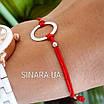 Браслет красная нить с серебром на руку - Браслет оберег на руку, фото 3