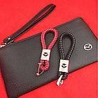 Брелок кожаный AZU с логотипом Mazda, фото 3