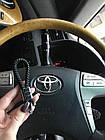 Брелок кожаный AZU с логотипом Toyota, фото 7