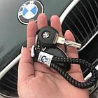 Брелок кожаный AZU с логотипом BMW, фото 2