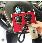 Брелок кожаный AZU с логотипом BMW, фото 8