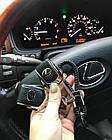 Брелок кожаный AZU с логотипом Lexus, фото 3
