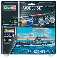 Model Set Авианосец USS Hornet CV-8, 1:1200, Revell (65823)