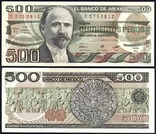 Мексика / Mexico 500 Pesos 1984 Pick 79b UNC