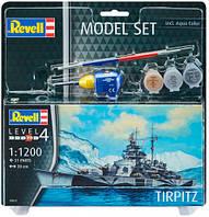 Model Set Корабль Tirpitz, 1:1200, Revell (65822)