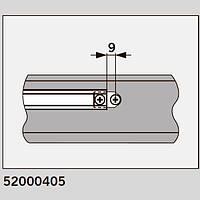 Пластины для установки скользящего канала DORMA G96N20 в металлическую дверь