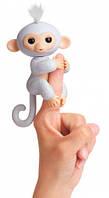 Интерактивная ручная обезьянка, Fingerlings, WowWee (белая) (W3760/3763)