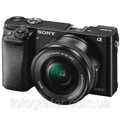 Фотоаппарат Sony a6000 kit 16-50mm Black ( На складе )