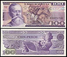 Мексика / Mexico 100 Pesos 1982 Pick 74С UNC