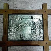 Оловянная картина Русалка Лорелей
