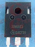 MOSFET N-канал 150В 34.6А 0.1Ом Infineon SPW35N60C3 TO247