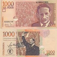 Колумбия 1000 песо 2011 UNC