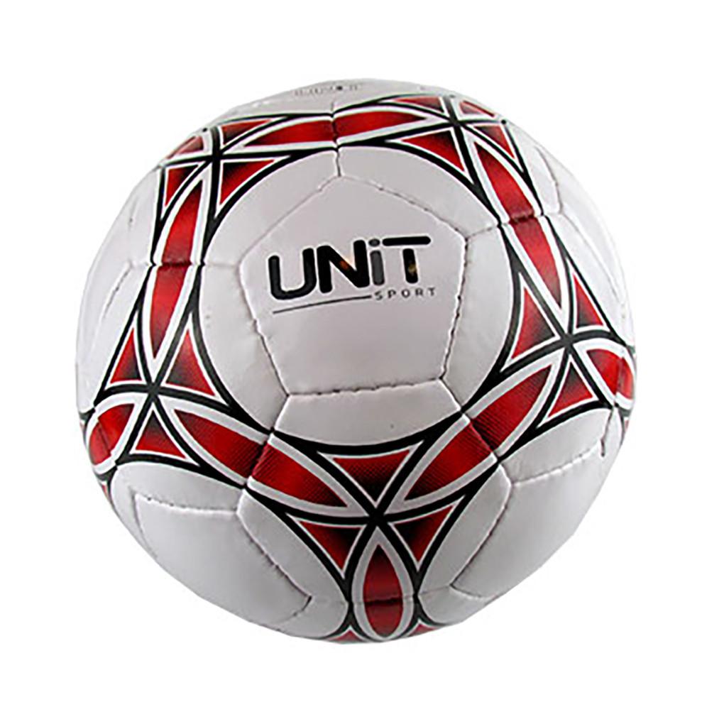Мяч футбольный UNIT 20139-US красные круги