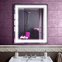 LED дзеркало у ванну зі світлодіодним підсвічуванням DV 753 683х800 мм.