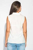 Блузка женская летняя 459F001-6 (Молочный)