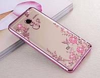 """Чехол Luxury для Xiaomi Redmi 5 (5.7"""") Бампер ультратонкий Rose Gold"""