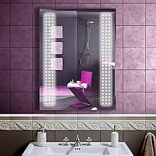 LED дзеркало у ванну зі світлодіодним підсвічуванням DV 7513 600х800 мм