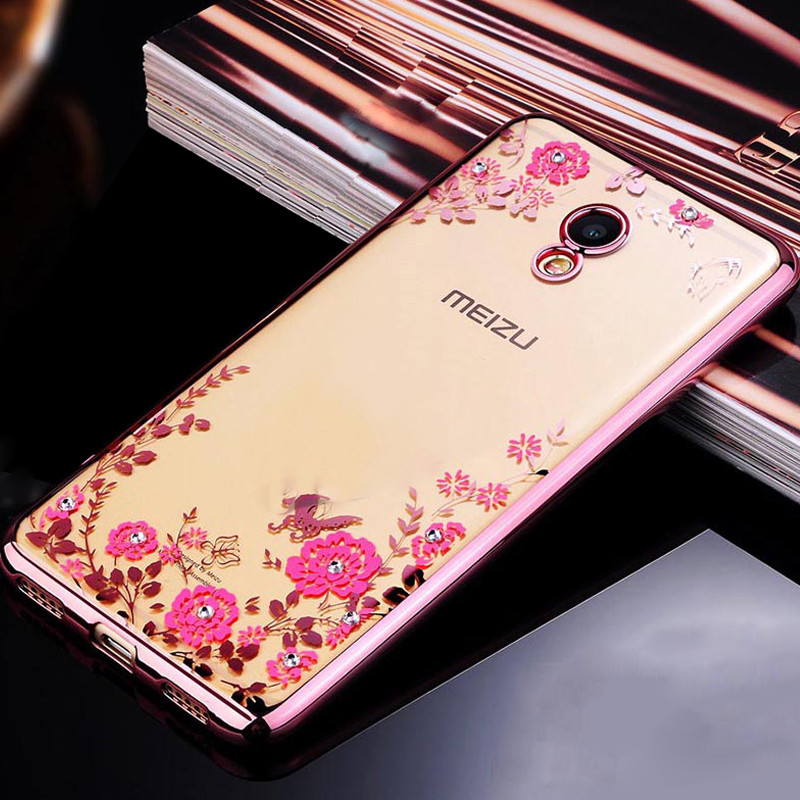 Чехол Luxury для Meizu M6s ультратонкий Бампер Rose Gold