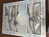 Скатертина 5 - D 150 -220 коробка, фото 4