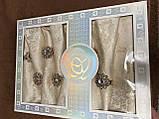 Скатертина 5 - D 150 -220 коробка, фото 3