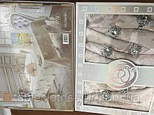 Скатерть  5 - D  150 -220  коробка
