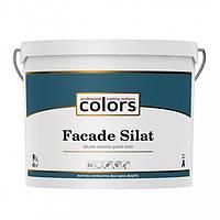 Фасадная силикатная краска Colors Facade Silat, 9л