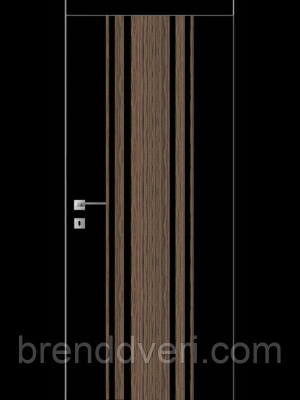 Дверь FТ.23.S со стекл. краш.по RAL (белое) с худ.рис.