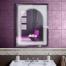 LED зеркало в ванную со светодиодной подсветкой DV 7524 600х800 мм.