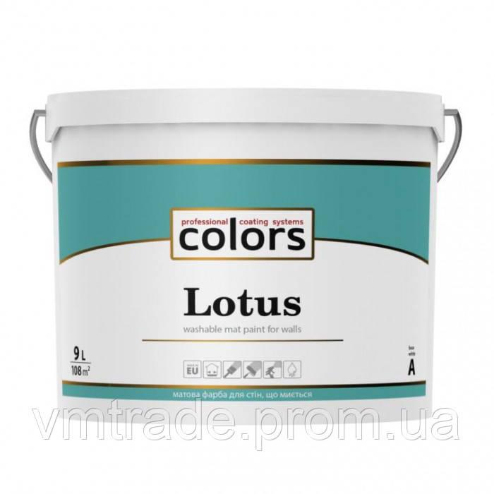 Латексная краска Colors Lotus, 9л, C
