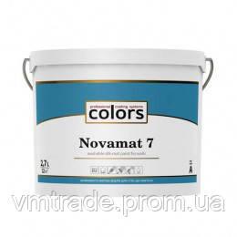 Полуматовая краска Colors Novomat 7, 9л, C