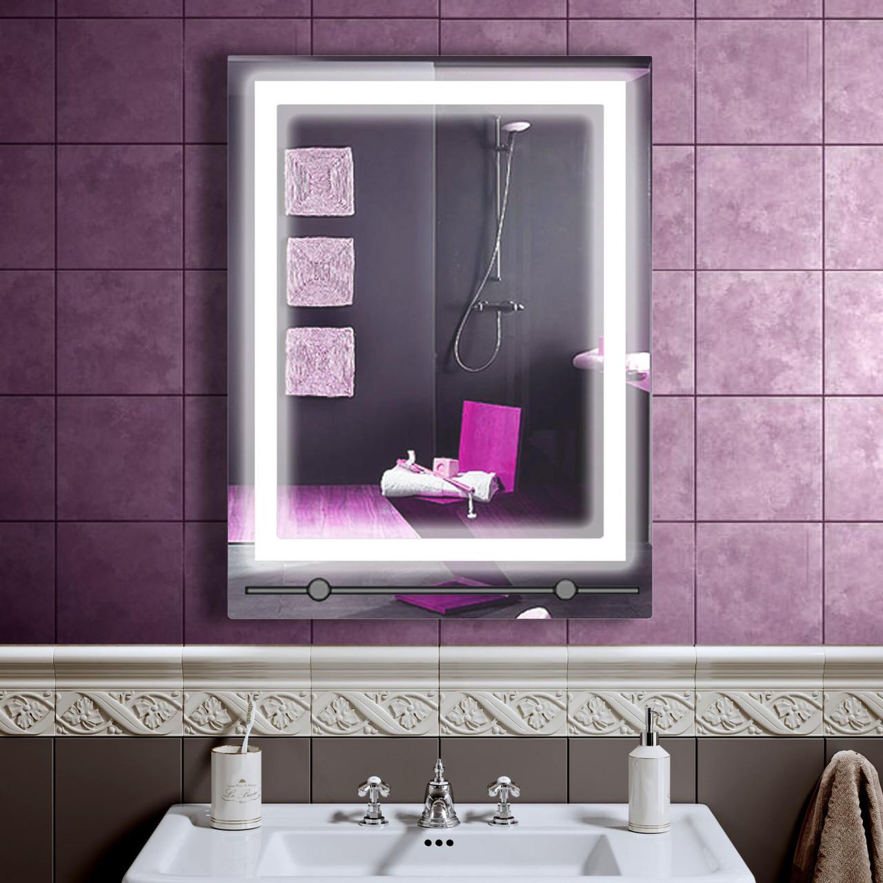 LED зеркало со светодиодной подсветкой DV 7527 600х800 мм. дзеркало