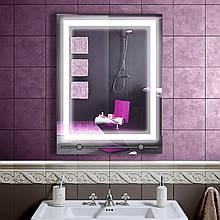 LED дзеркало зі світлодіодним підсвічуванням DV 7527 600х800 мм дзеркало
