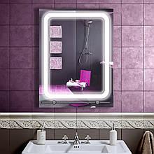 LED дзеркало у ванну зі світлодіодним підсвічуванням DV 7528 600х800 мм