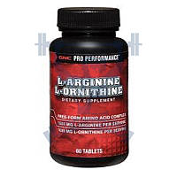 GNC L-Arginine L-Ornithine л-аргинин л-орнитин для роста улучшение кровообращения от головной боли