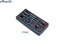Набор отверток 8 предметов в ложементе HANS TT-10
