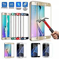 Защитное стекло Samsung S7 edge Полное покрытие Full Screen 3D