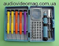 Набор бит, торцевых насадок и инструментов SPHINX 8117 для ремонта мобильных, планшетов
