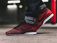 Кроссовки Nike Flyknit Racer Red