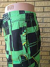 Шорты мужские брендовые на резинке со шнуровкой реплика BILLABONG, фото 3