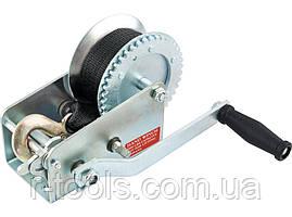 Лебедка шестеренчатая тяга - 0,8 т  ленточная MTX 5227159